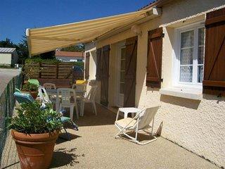 Maison de vacances T2, à Saint Vincent sur Jard