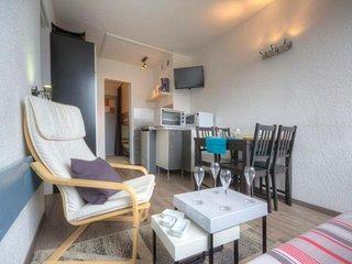 Deux pieces 6 personnes confort avec balcon, residence Armoise