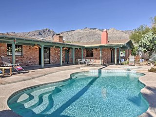Tucson Home w/ Private Pool, Hot Tub & Mtn Views!
