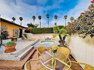 2BR Retro Bungalow w/ Private Hot Tub - Minutes to the Beach & Downtown