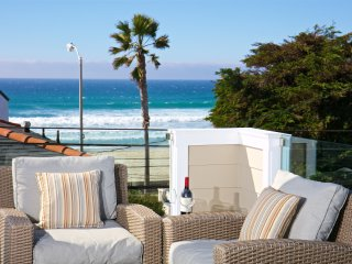 Enjoy a nice ocean breeze on any of the comfortably furnished decks this property offers