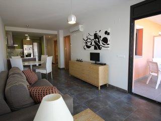0052-MIMOSES Apartamento moderno con 1 dormitorio