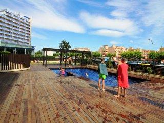 0004-CRISTALL MAR Apartamento con piscina comunitaria y vista al mar