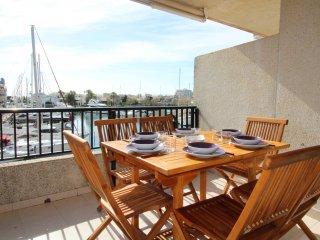 0049-CABALLITO DE MAR Apartamento con vistas al canal