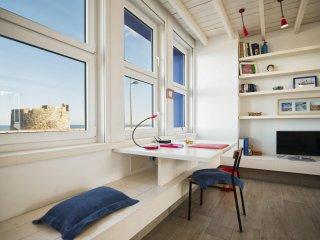 Apartamento de lujo con vistas al mar y al castillo