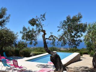 Villa belle vue Mer avec piscine a débordement