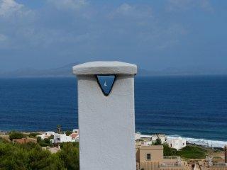 Kleines Haus auf Mallorca, mit offenem Kamin und Dachterrasse