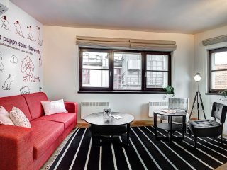 In the center of Prague with Air conditioning, Lift, Parking, Terrace (705297)