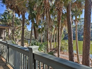 NEW! 3BR Kiawah Island Cottage on Sparrow Pond!