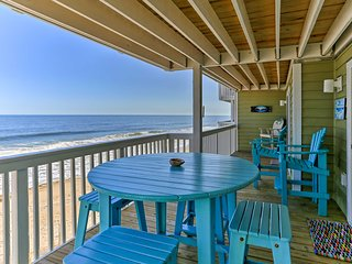 Ocean Dunes Kure Beach Condo w/Balcony & Pool
