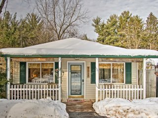 NEW! Sawyer Studio Cabin - Walk to Harbert Beach!
