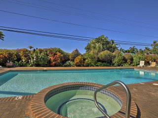 Take advantage of Holualoa Bay Villas' on-site amenities, including this beautifully landscaped swimming pool.