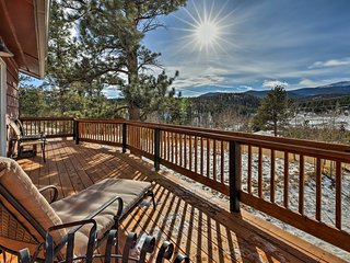 Bailey Home on a Sunny Meadow w/ Mountain Views!