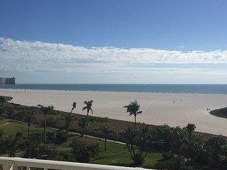 Larger End-Unit w/Wraparound Balcony!  SW Views of Beatiful Gulf + Beach!!