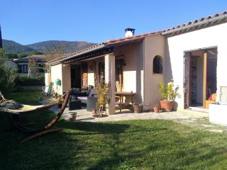 Stunning mountainview house, in picturesque Quillan, short walk to town centre