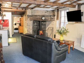 A quirky ground floor apartment, which lies in the heart of the town
