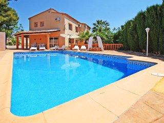 5 bedroom Villa in Calpe, Valencia, Spain : ref 5435371