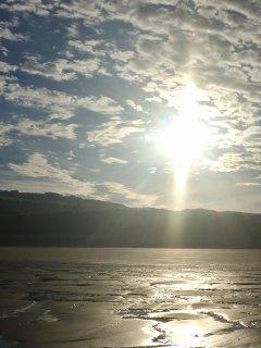 morning light after high tide