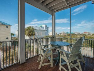 Spacious Gulf View home only steps to the beach. Beautifully decorated.