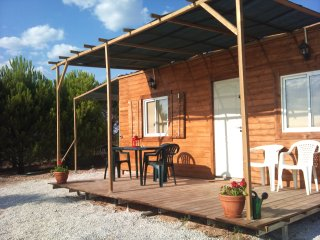 Bungalow Rural con Playa Privada
