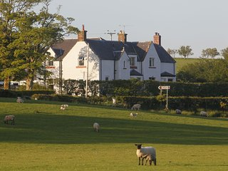 Dalton Green Luxury farmhouse, 5 stars AA, at Kirkwood Real Farm Holidays