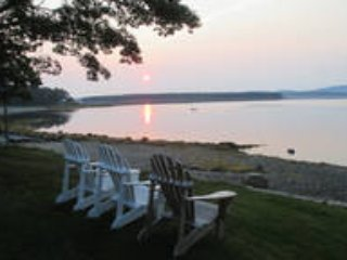 Acadia National Park Ocean front Cottages with great beach and botanical gardens