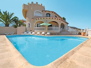 7 bedroom Villa in Calpe, Valencia, Spain : ref 5435374