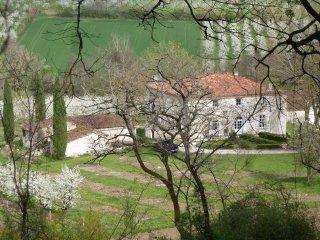 Chambre prune Domaine de calbiac