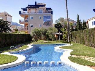 Apartamento - Residencial Castell, 3 dormitorios, 6 PAX, salida a la playa
