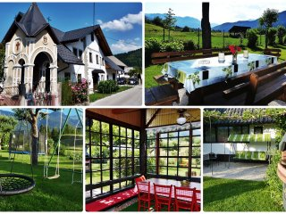 Holiday home w/garden Bohinj
