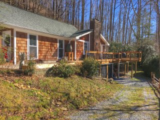 Mountain Retreat by the River 5min to Chimney Rock/Lake Lure 30min to Asheville