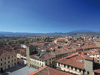 Appartamento nel centro storico di Sansepolcro, Palazzo Aloigi Luzzi, sec.XVIII