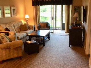 'Happy Place'. Affordable ground floor condo inTrue Blue Pawleys.