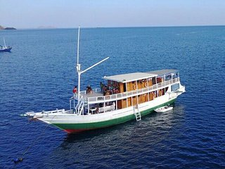 Komodo Port Boat for Cruise Ship Passengers