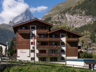 Penthouse Studio Venus Zermatt - Mountain Exposure