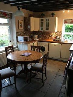 Kitchen at Maple Leaf Cottage