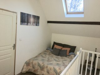 Upstairs - 2 Bedrooms a double bed in each