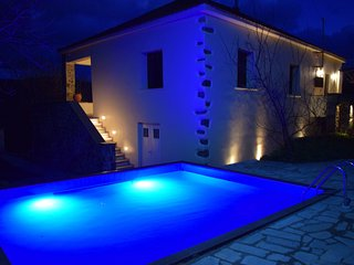 Villa Vlatos with private  pool close to famous Milia and Elafonisi beach !