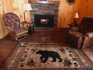 YOU'LL SHARE THE LIVING ROOM WITH THIS BEAR !