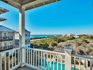 Poolside Inlet Beach home, short walk to beach, gulf views - Seaside Spotlight