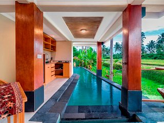 Gusku Uma Villa - 1 Bdr Private Pool, Rice field, River view