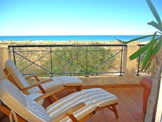 Apartamento frente al mar en Playa de Oliva