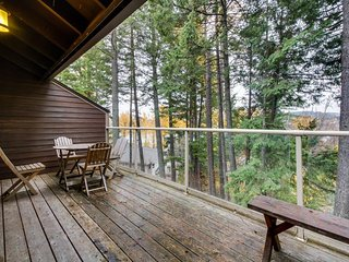 Lakeview condo w/ dock & beach access - plus skiing, hiking, and more close by