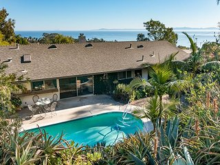 3BR Hope Ranch Retreat w/ Panoramic Ocean Views - Private Pool and Spa