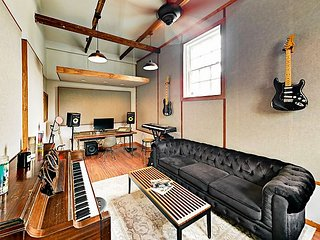 Hip 2BR w/ Full Music Studio & Private Yard