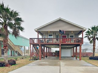 3BR Beach-Chic Cottage in Sea Isle w/ Porch — Near Amusements