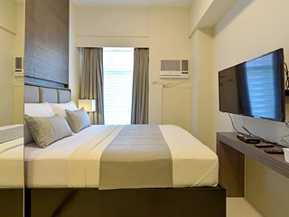 Fully Furnished Studio Unit 6 at Currency Ortigas