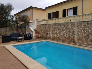 Lovely house with pool near the beach in Son Serra de Marina