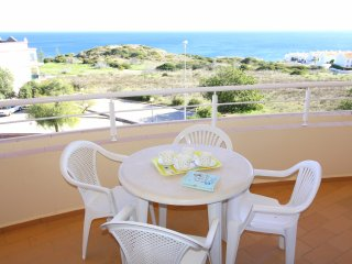Acacias Apartment F. 2 bedrooms, full A/C, sea views and walk to the  beach !