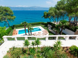 Beach front villa for rent with pool Ciovo, Trogir area